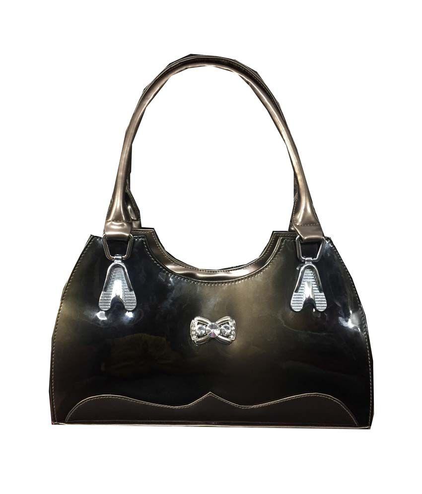 Apnav Multicolour P.u. Satchel Bag For Women