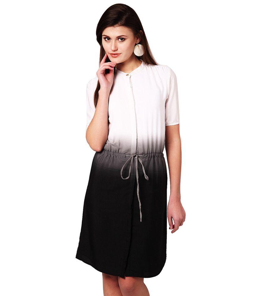 Yepme White Polyester Dresses