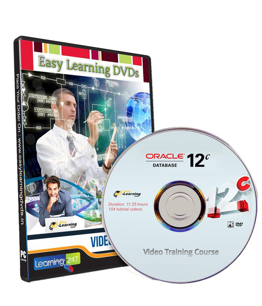 Learn Oracle Database 12c Video Training Course DVD By Easy Learning