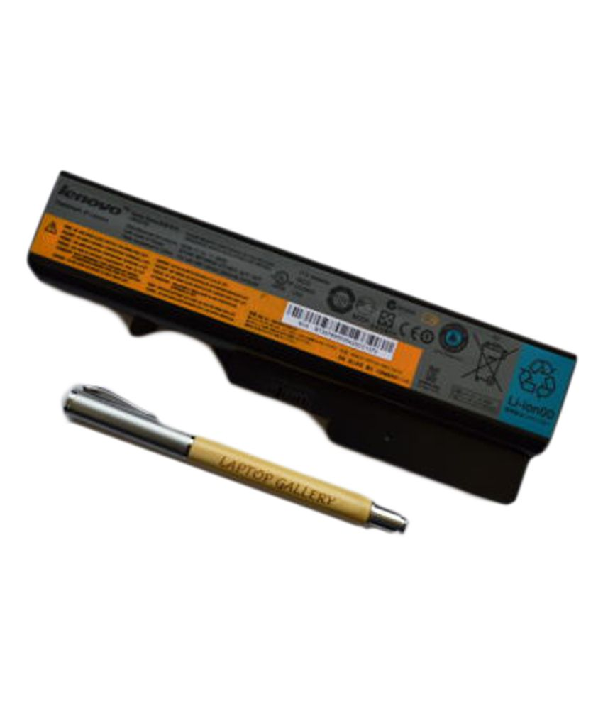 Lenovo Genuine Original Laptop Battery For Ideapad G560g L09l6y02 With Personalised Wooden Pen