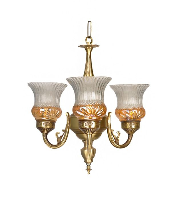 Fos lighting lustrous 3 light mini antique brass chandelier