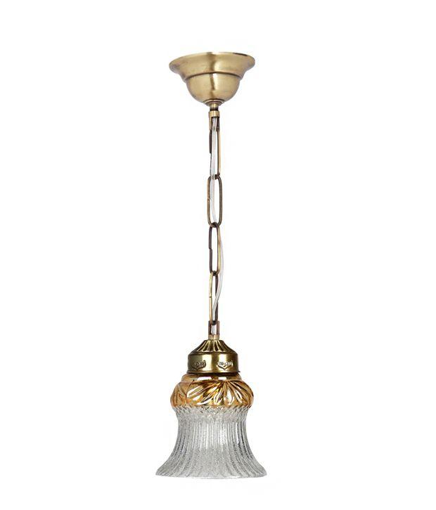 Fos Lighting Brass Pendant Multi -