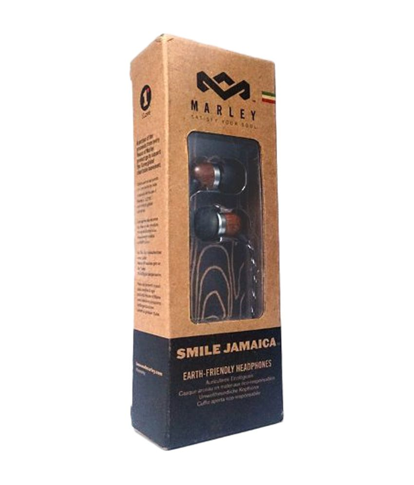 d058fbe33ad ... House Of Marley Smile Jamaica EM-JE041-MI Earphones - Midnight Without  Mic