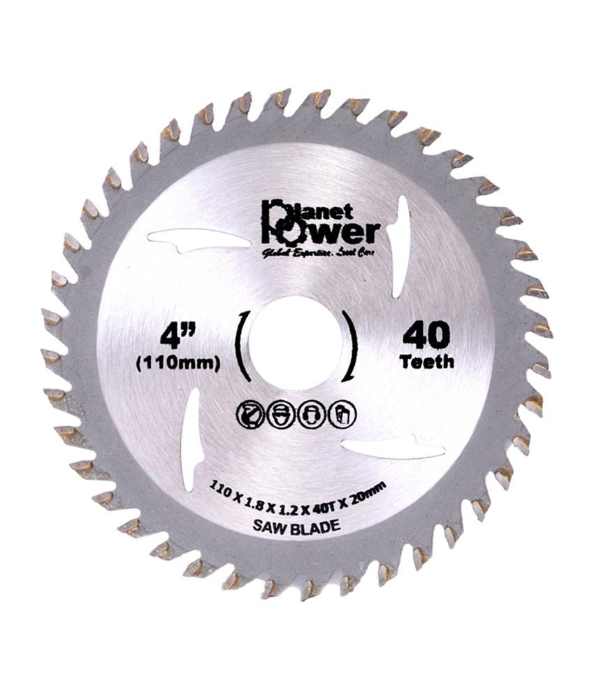 Planet Power TCT 110x40T Saw Blade