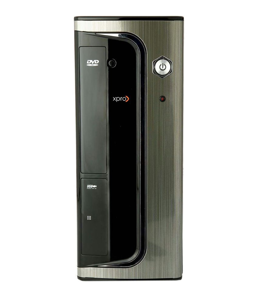 Xpro Micro Slim Atx Cabinet With Power Supply