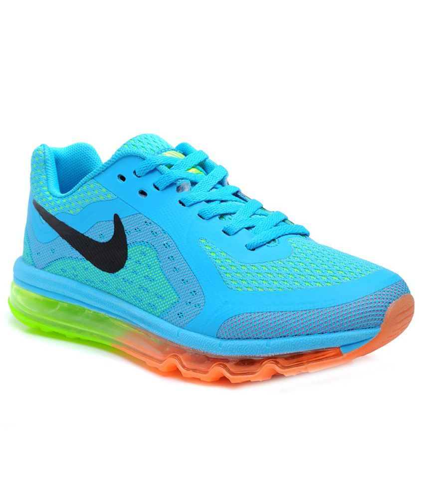 Nike Airmax 2014 Moon Blue Running Shoes