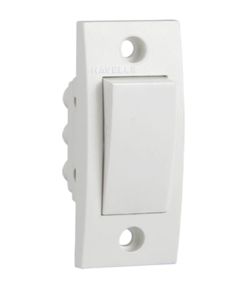 buy havells 6a one way switch online at low price in india snapdeal