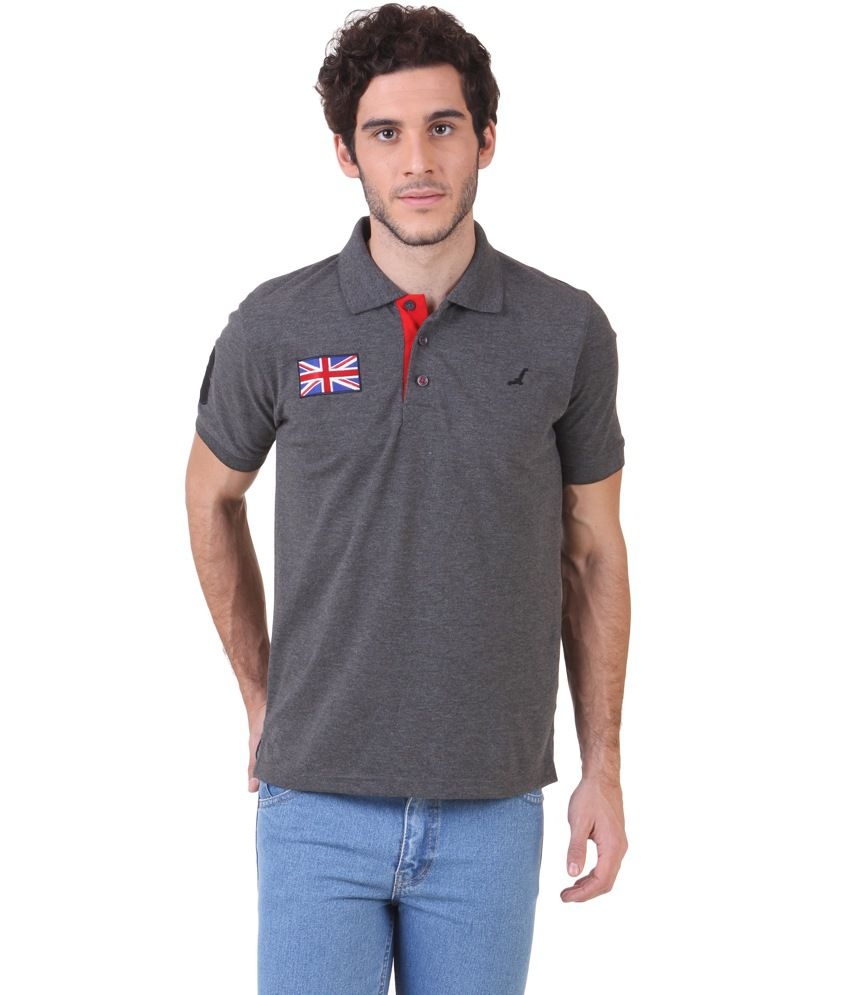 2891cf873 American Crew Men's Polo Collar T-shirt With No.3 Applique - Buy American  Crew Men's Polo Collar T-shirt With No.3 Applique Online at Low Price -  Snapdeal. ...