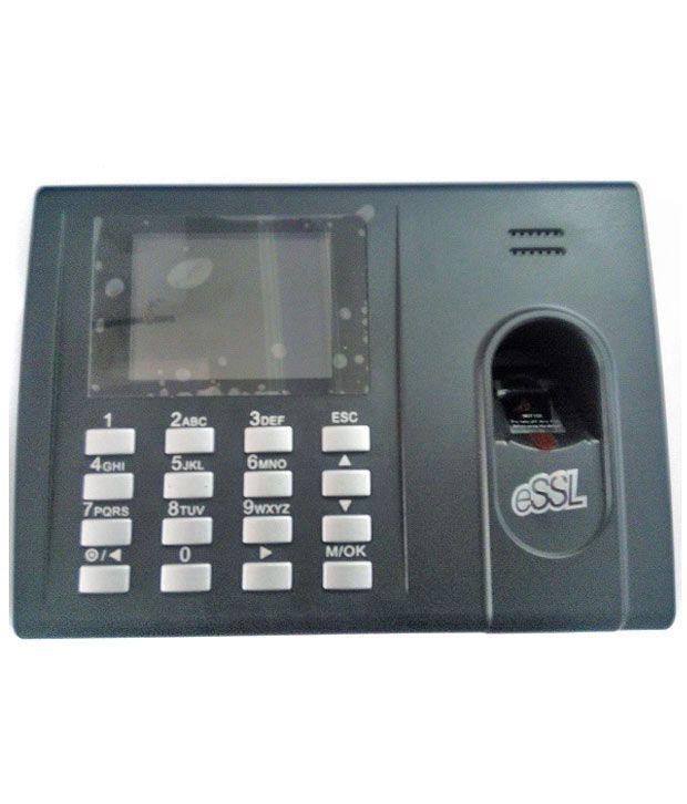 Essl Identix K-20 New Coloured Biometric Time Attendance Machine