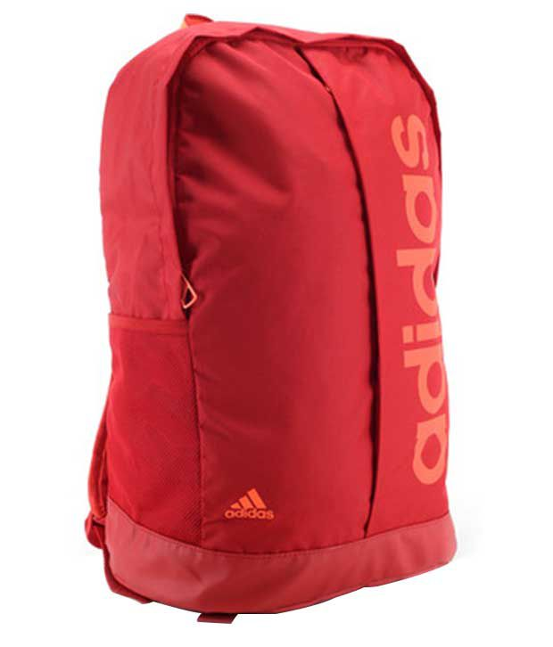 Adidas Unisex Red Backpack  available at snapdeal for Rs.1399