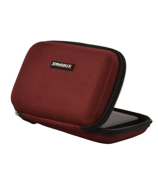 Neopack External Hard Disk Case 2.5 Inch Red