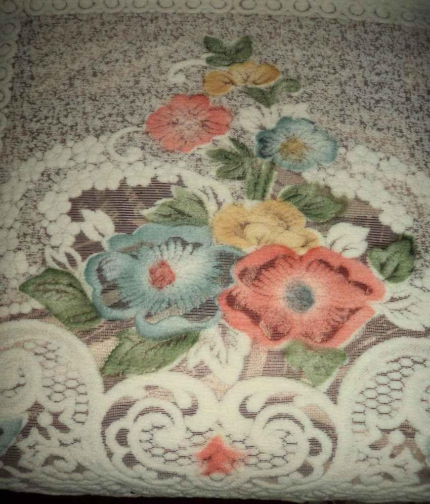 Amita S Home Furnishing Set Of 6 Polyester Net Sofa Cover