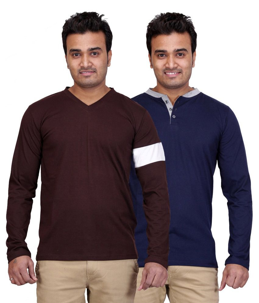 Radbofin Multicolor Cotton Basics T-shirt