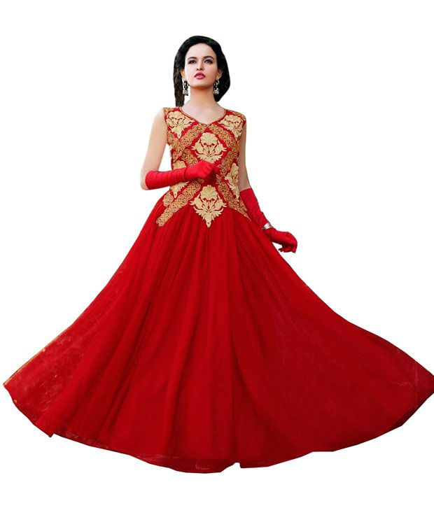 Rsfgown Red Net Gowns - Buy Rsfgown Red Net Gowns Online at Best Prices in  India on Snapdeal 732f80859