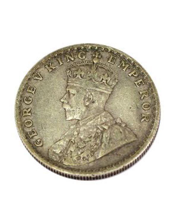 George V King Emperor Antique Silver Coin Buy George V