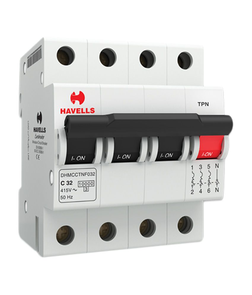 Buy Havells C Series Tpn Mcb Online At Low Price In India