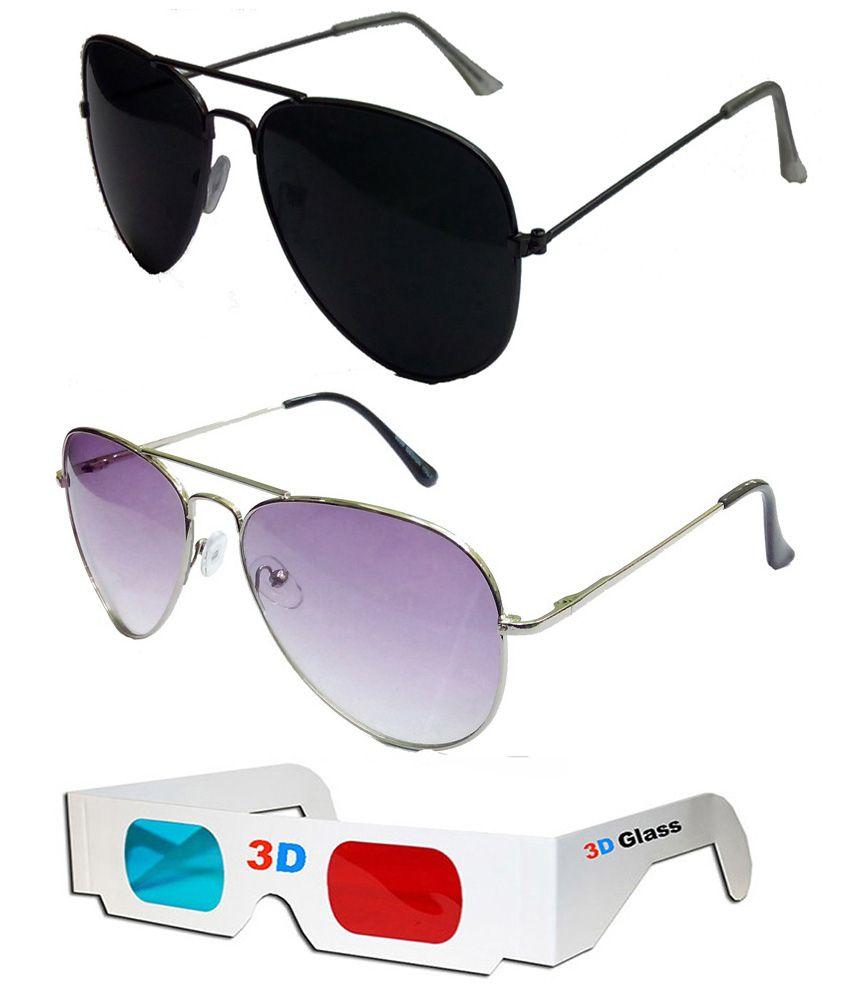 ff953fa619 ... Women purple lens Sunglasses Eyewear Source · Hrinkar Aviator Sunglasses  Black Frame Black Lens with Aviator