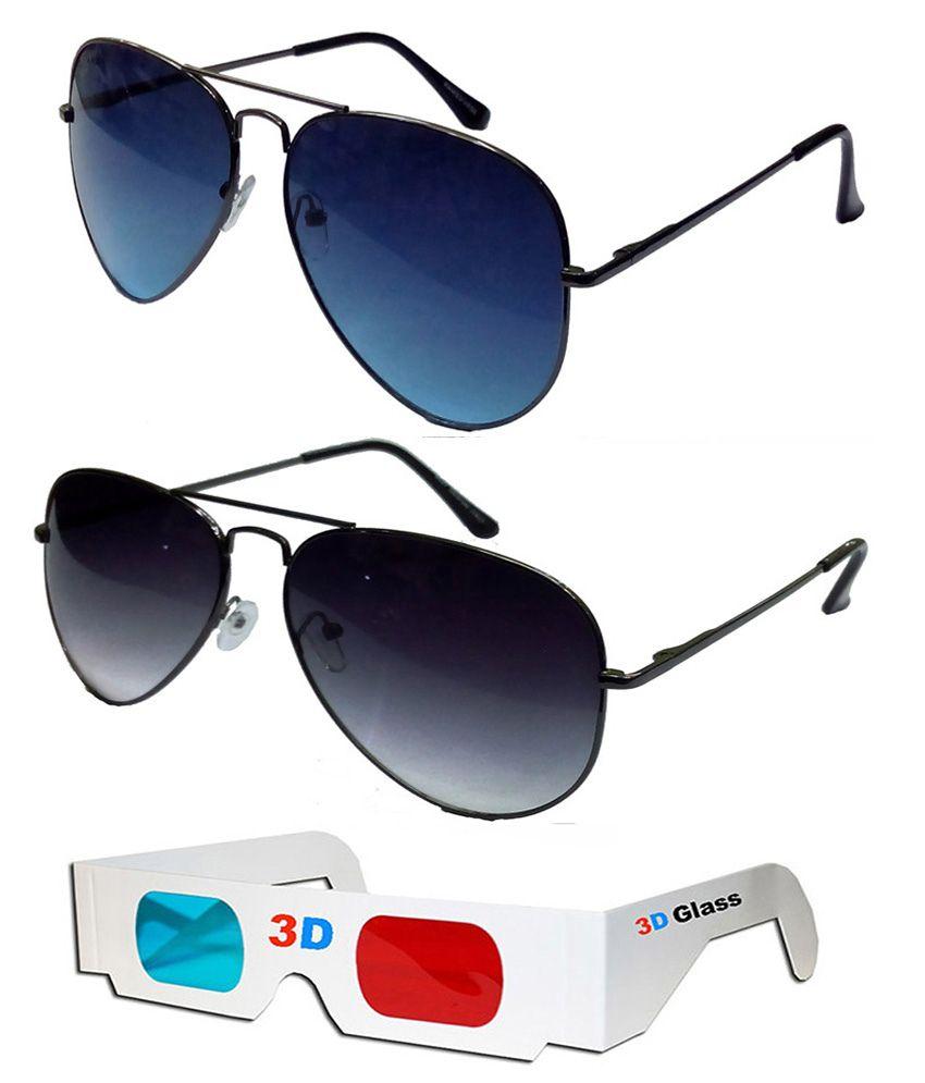 Hrinkar - Gray Pilot Sunglasses ( )