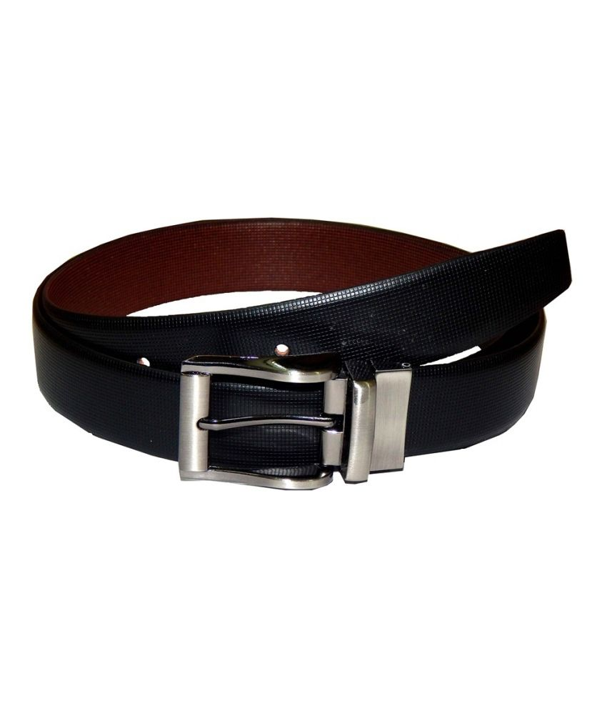 Navaksha Black Mens Belt