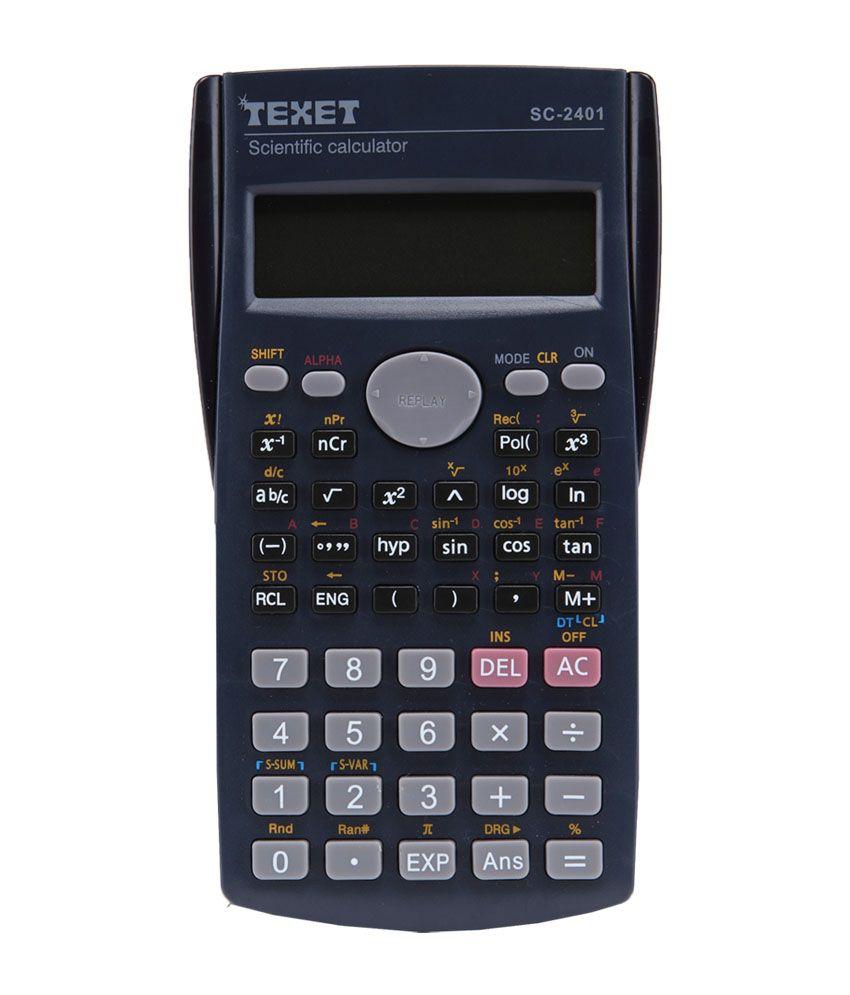 Texet Scientific Calculator Sc2401