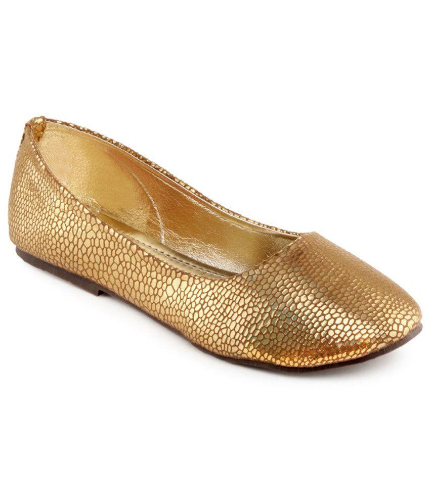 Kielz Chic Gold Ballerina