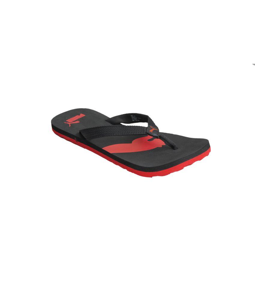 40a809fdbb5d Puma Atlanta Red   Black Daily Wear Flip Flops Price in India- Buy Puma  Atlanta Red   Black Daily Wear Flip Flops Online at Snapdeal