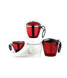 Butterfly Desire 3 Jar Mixer Grinder White & Red