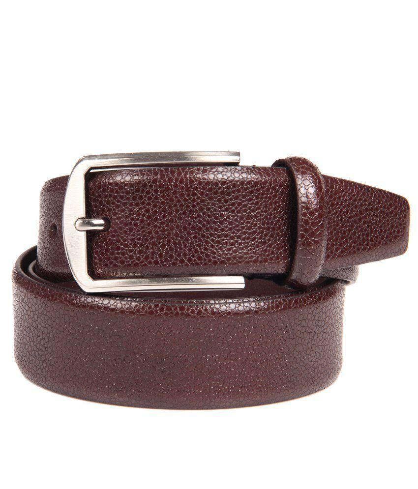 Franco Leone Brown Formal Belt