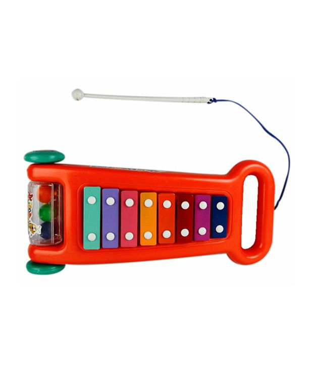 Ollington St. Collection Ollington St. Collection Red Xylophone Toy