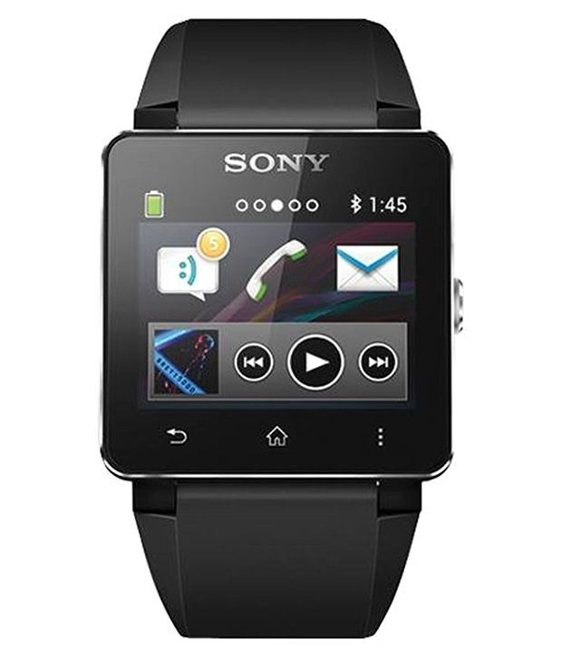 Sony SW2 Android Smart Watch - Wearable   Smartwatches Online at Low Prices   04e16aeb5e9a