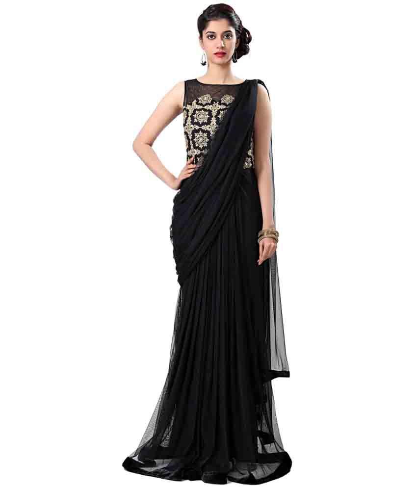 Eavan Black Net Gowns Buy Eavan Black Net Gowns Online At Best