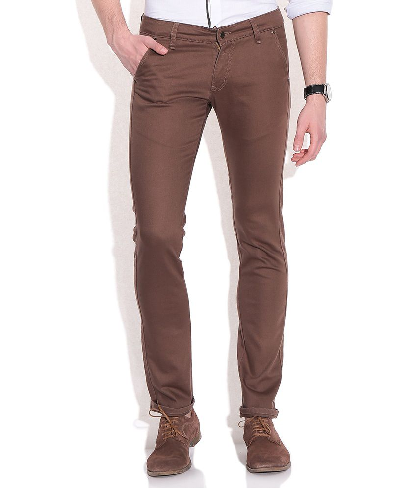 Franco Leone Brown Jeans