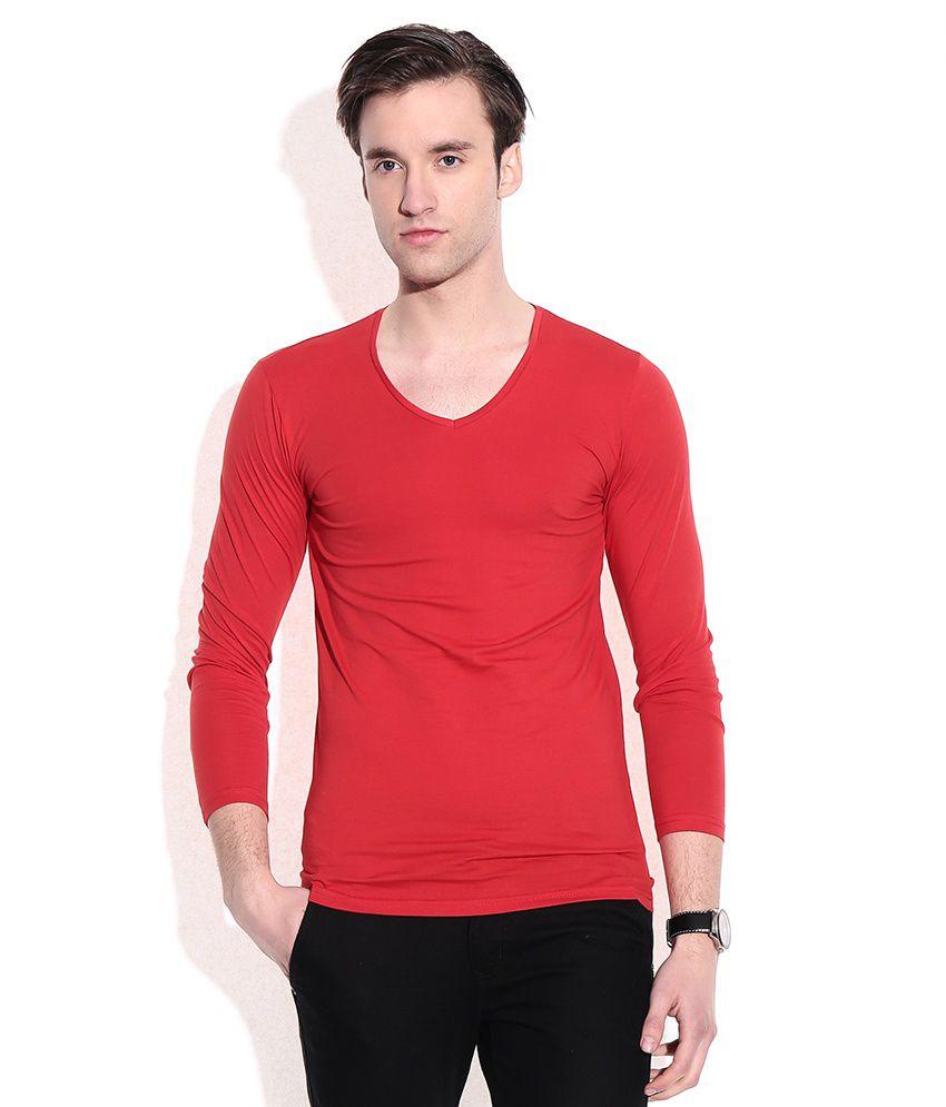 Franco Leone Red T-shirt