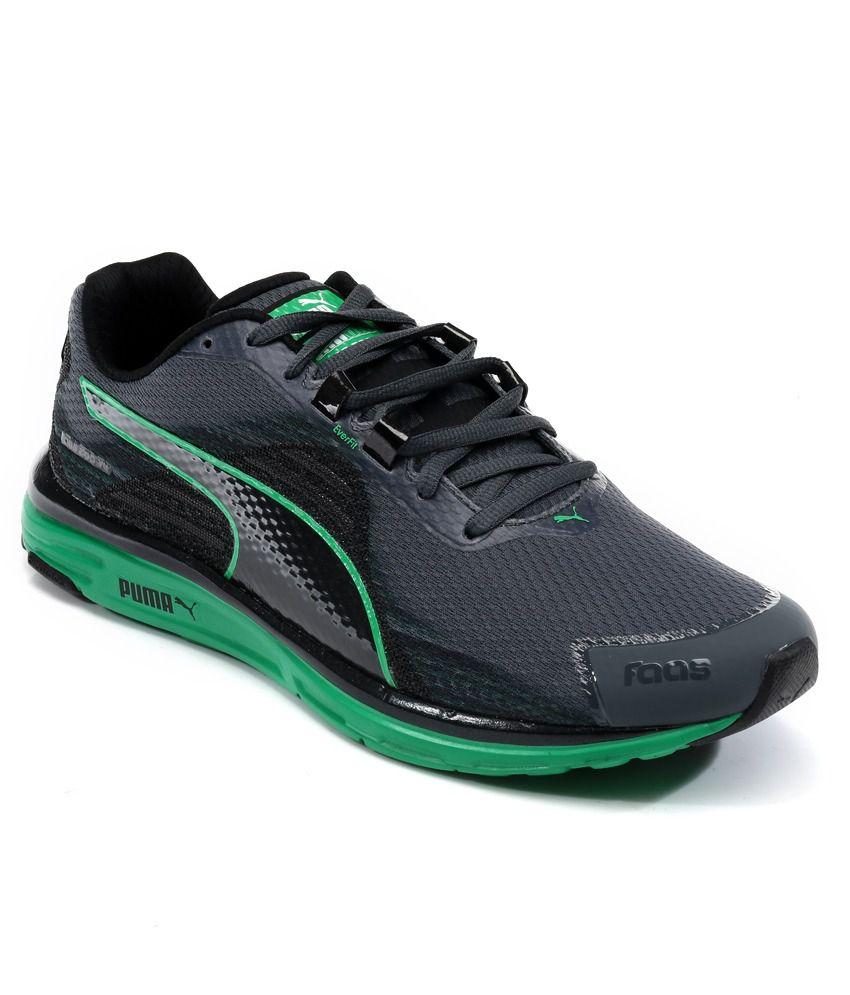 best service 5b2f6 29c54 Puma Faas 500 V4 Black Sport Shoes