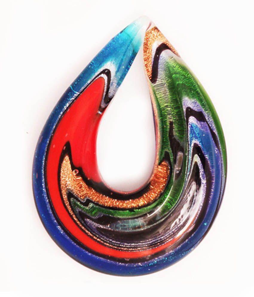 Murano Type Glass Pendant