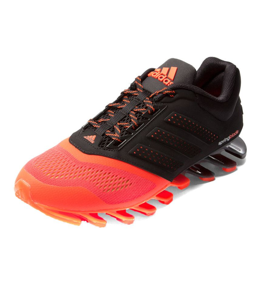 ba5d3fea0a0c Adidas Spring Blade Drive Mens Black Sports Shoes - Buy Adidas ...