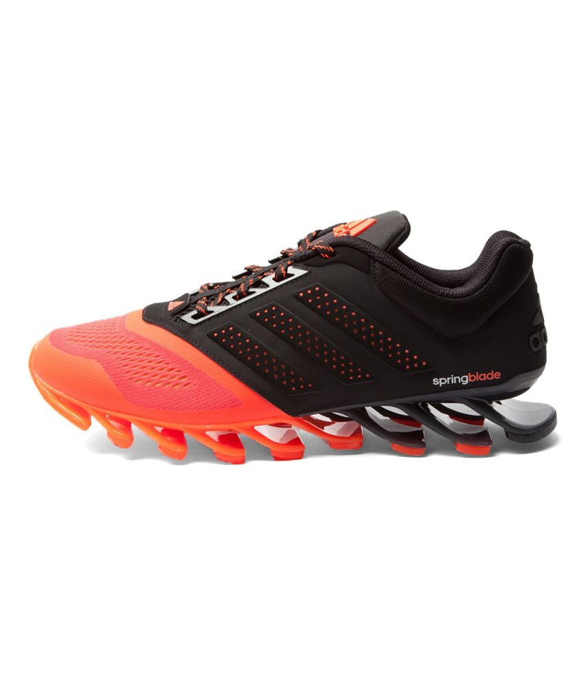 Hombres Adidas Unidad Springblade Calzado Deportivo Negro ZM3U0iLEH