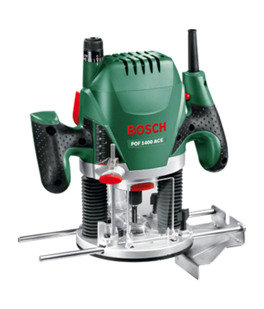 Bosch Pof 1400 Ace Router - Green And Silver