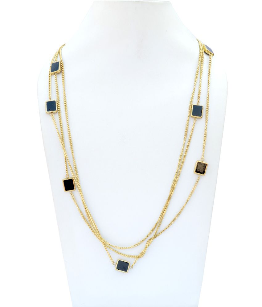 Uptown Black Daily Wear Necklace