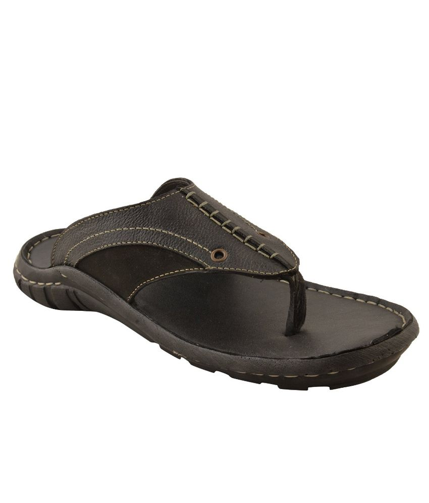 8f79a7d1786c Walkers London Black Sandal Price in India- Buy Walkers London Black Sandal  Online at Snapdeal
