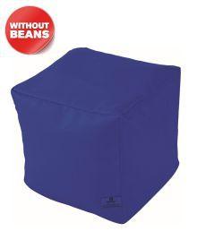 Dolphin Puffy Bean Bag Cover-R.Blue