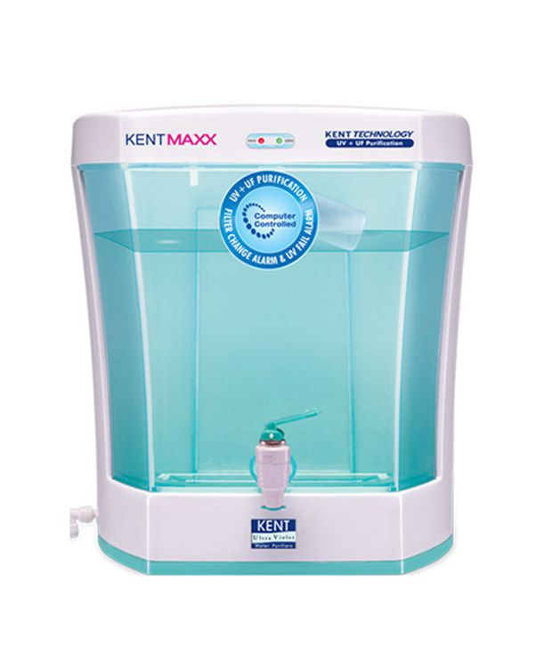 Kent Mineral Ro Water Purifier 7 Litres Kent Maxx Uv Purifier System Uf & Uv Filteration Water Purifiers