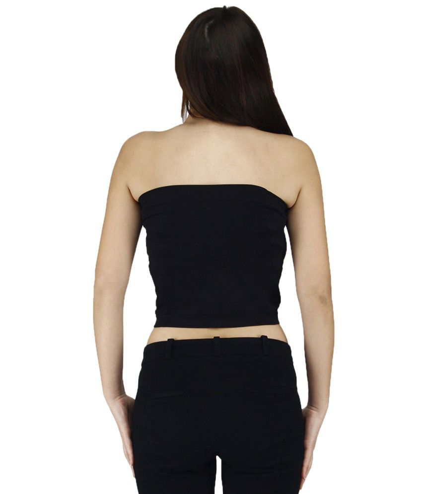 buy golden girl black tube top online at best prices in india - snapdeal