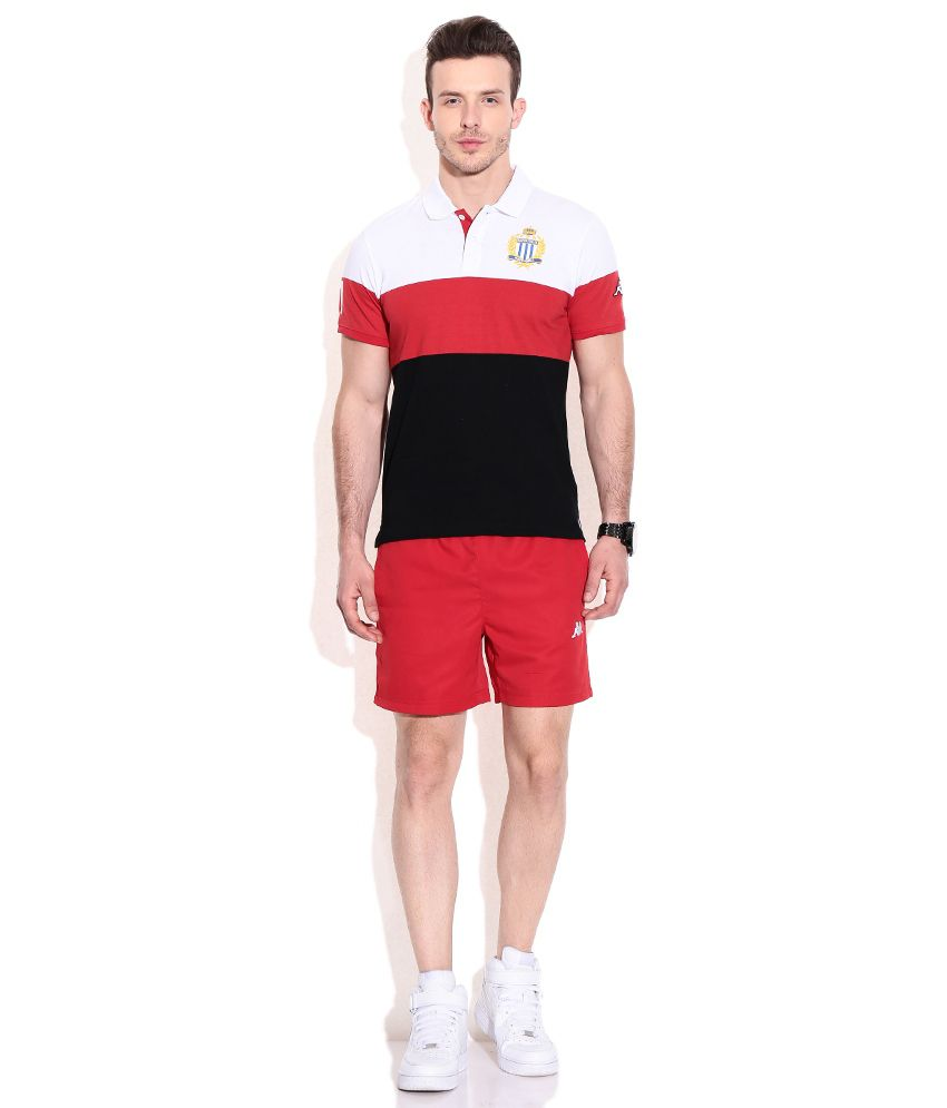 713b7d978be Kappa Red Polyester Shorts - Buy Kappa Red Polyester Shorts Online ...