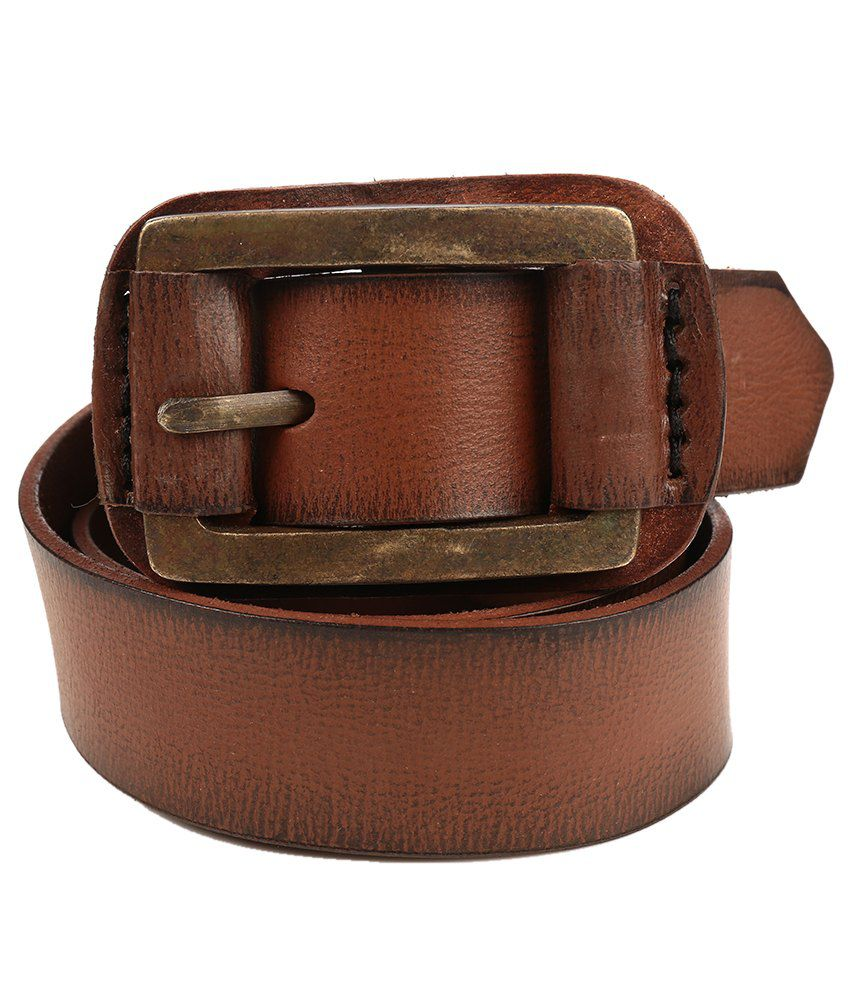 Being Human Tan Casual Belt
