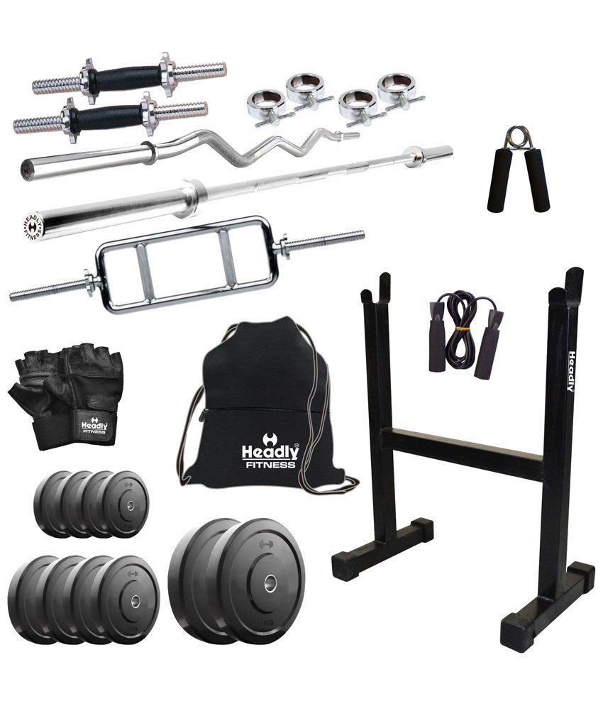 Headly kg home gym inch dumbbells rods rod