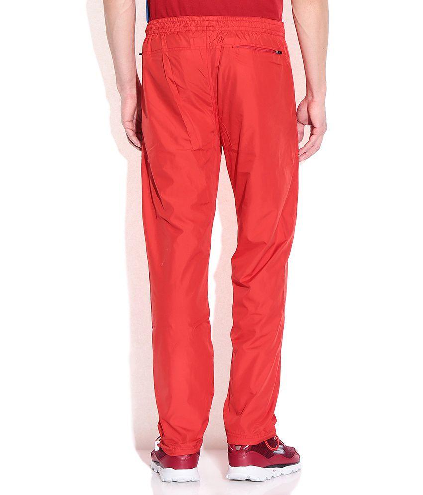 5143a243cfa Kappa Red Polyester Trackpants - Buy Kappa Red Polyester Trackpants ...