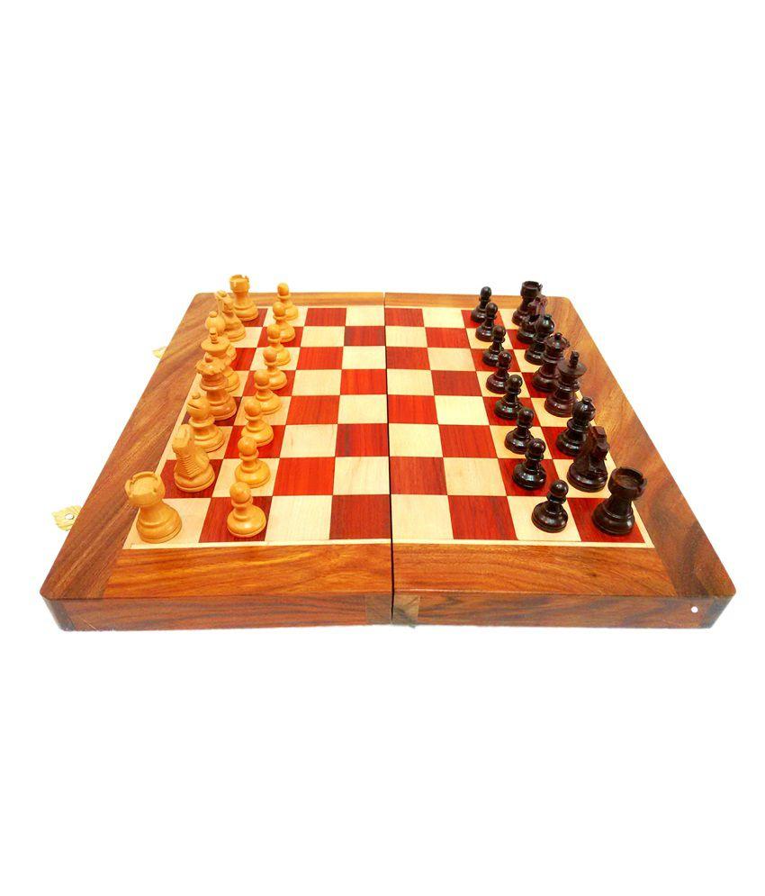 Klbl Wooden Magentic Chess 10