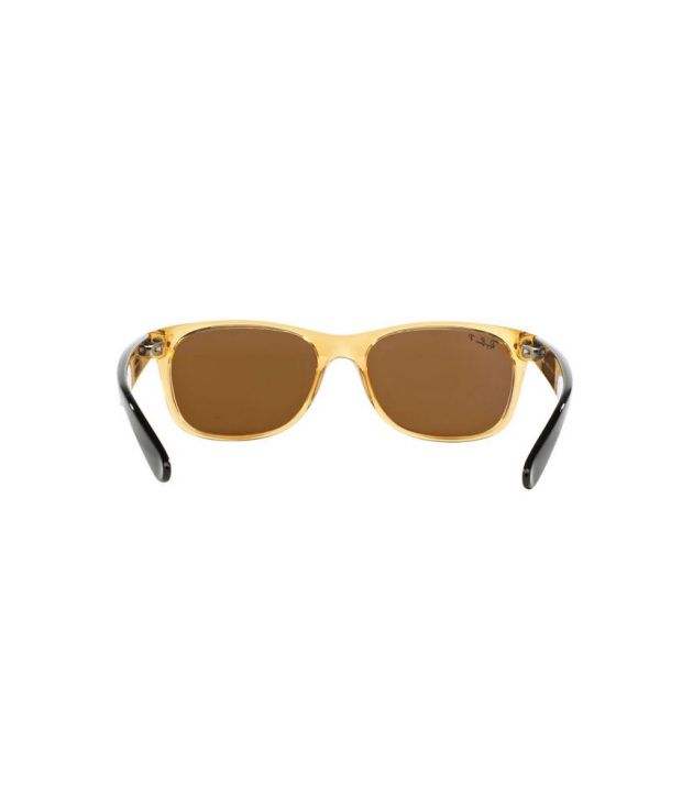 05aa32c4c5b Ray-Ban RB2132 945 57 NEW WAYFARER Brown   Brown Sunglasses - Buy Ray-Ban  RB2132 945 57 NEW WAYFARER Brown   Brown Sunglasses Online at Low Price -  Snapdeal