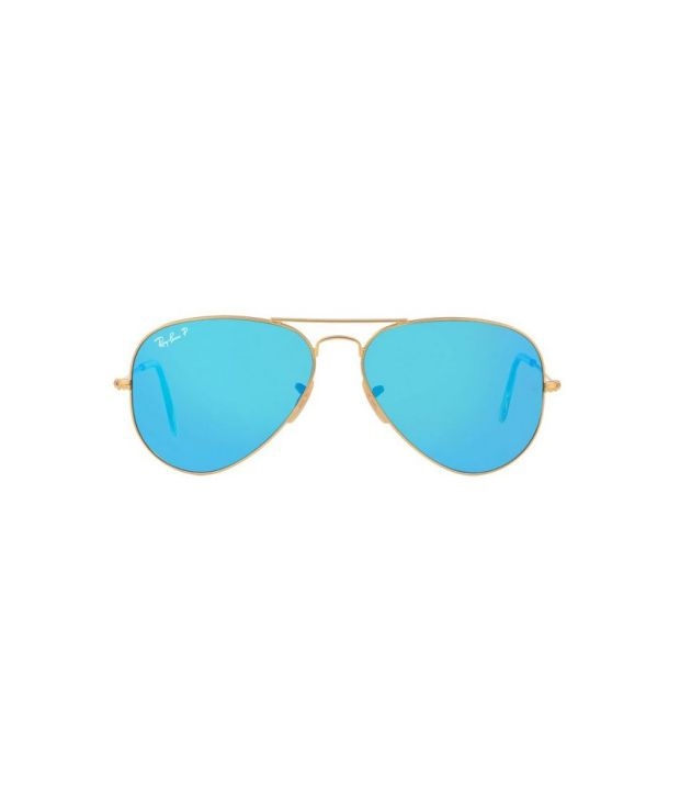 63b498c5a7 ... Ray-Ban Blue Polarized Aviator Sunglasses (RB3025 112 4L 58-14) ...
